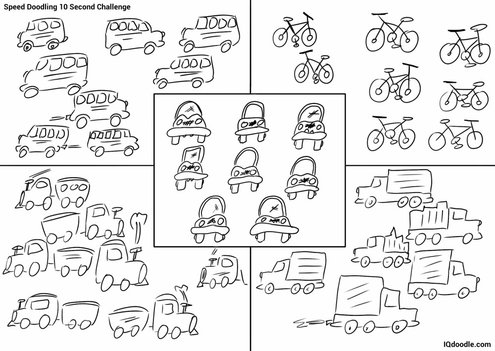doodling transportation in less than 10 seconds