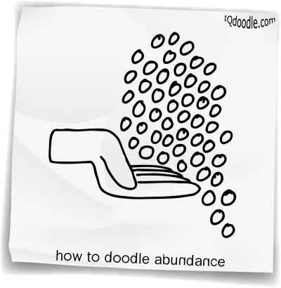 how to doodle abundance small