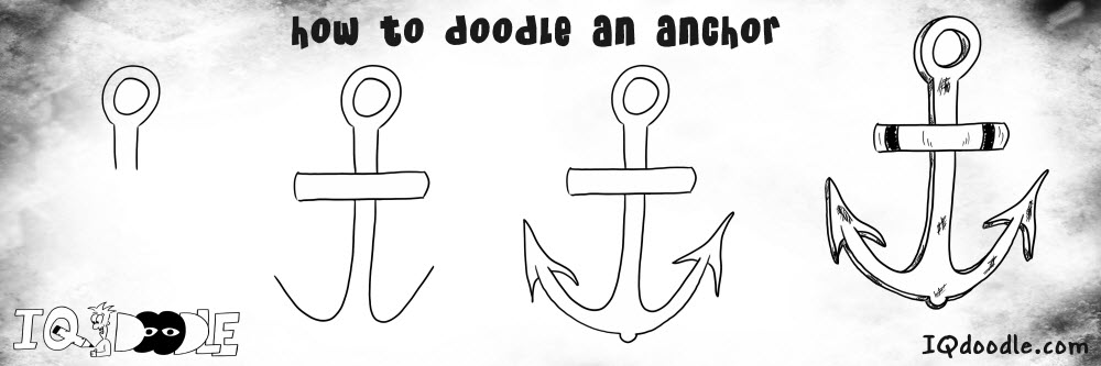 how to doodle anchor