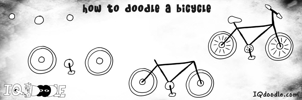 how to doodle bicycle