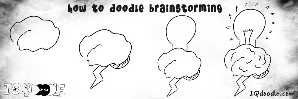 how to doodle brainstorming
