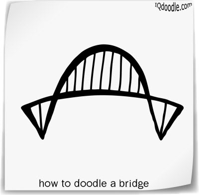 how to doodle bridge small