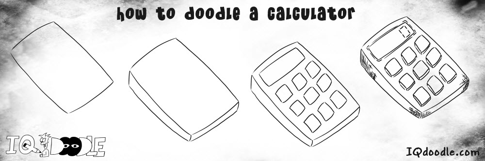 how to doodle calculator