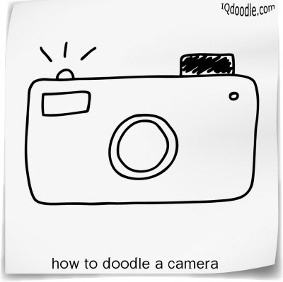 how to doodle camera small