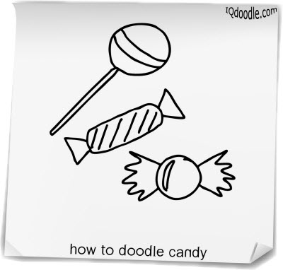how to doodle candy small
