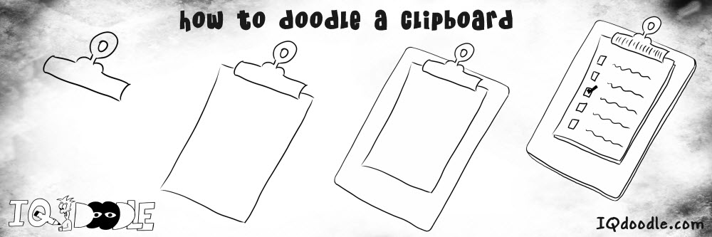 how to doodle clipboard