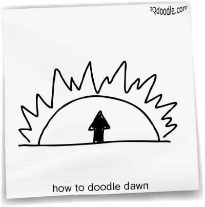 how to doodle dawn small