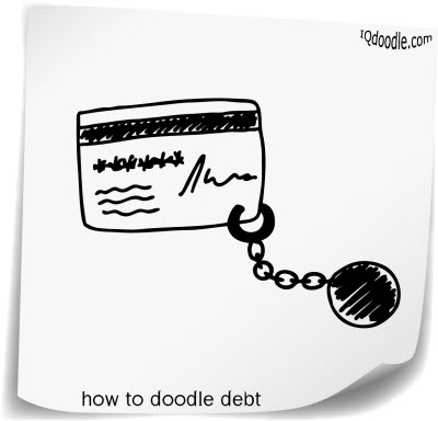 how to doodle debt small