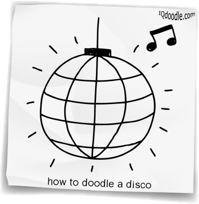 how to doodle disco small