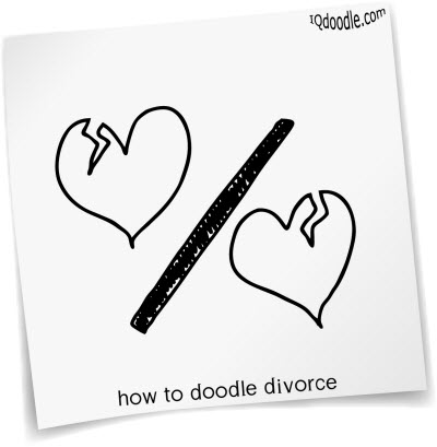 how to doodle divorce small