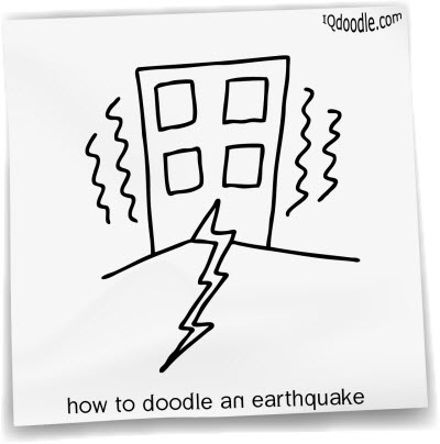 how to doodle earthquake small