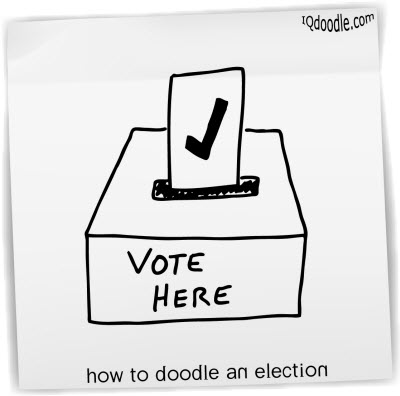 how to doodle election small
