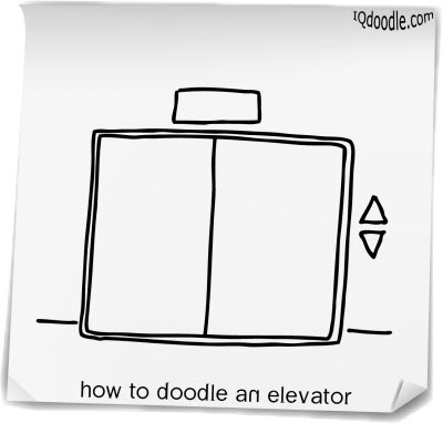 how to doodle elevator small