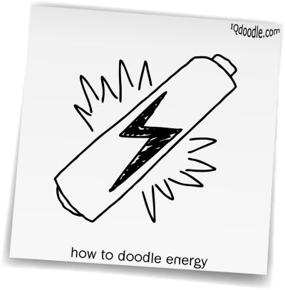 how to doodle energy small
