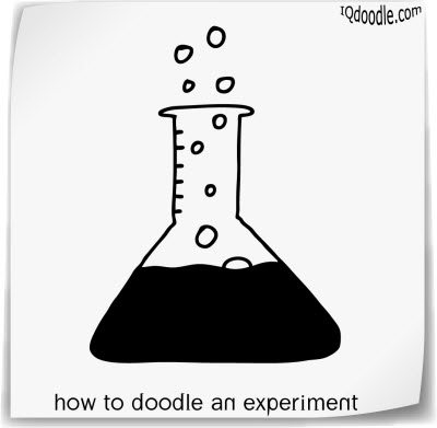 how to doodle experiment small