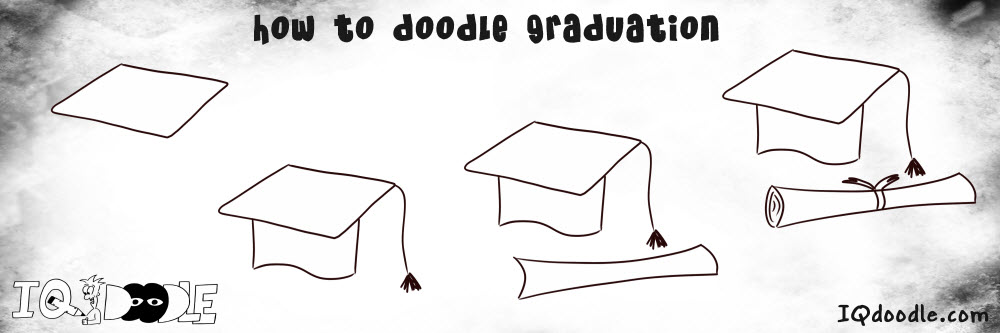 how to doodle graduation