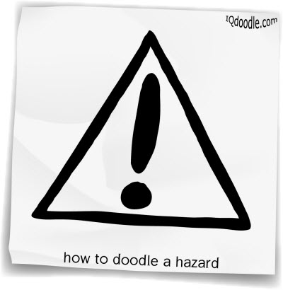 how to doodle hazard small