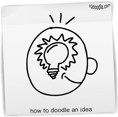 how to doodle idea small