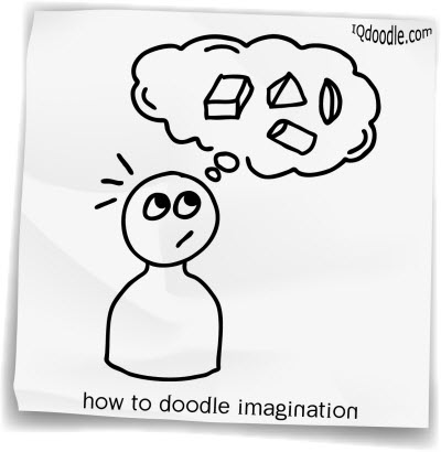 how to doodle imagination small