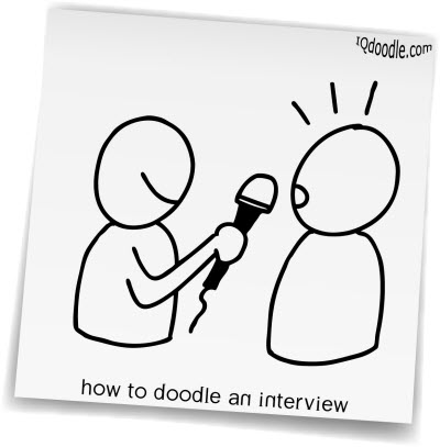 how to doodle interview small