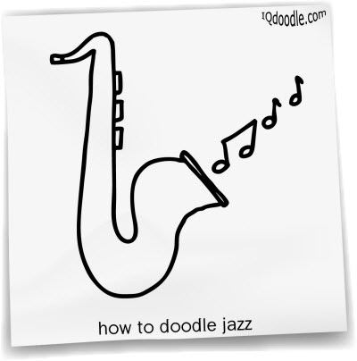 how to doodle jazz small