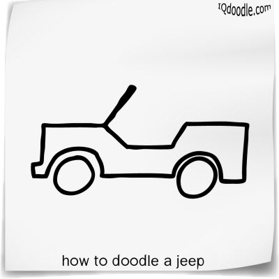 how to doodle jeep small