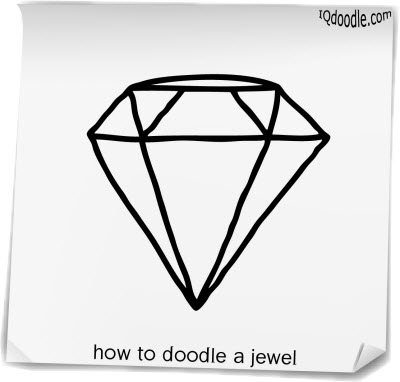 how to doodle jewel small