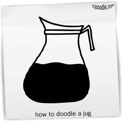 how to doodle jug small