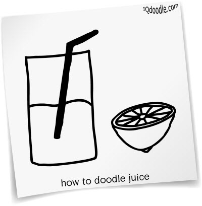 how to doodle juice small