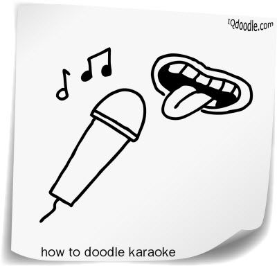 how to doodle karaoke small