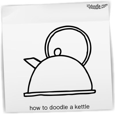 how to doodle kettle small