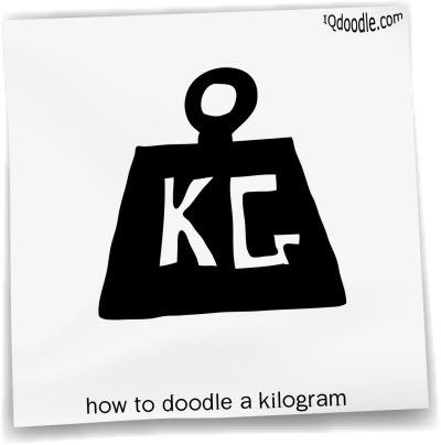 how to doodle kilogram small