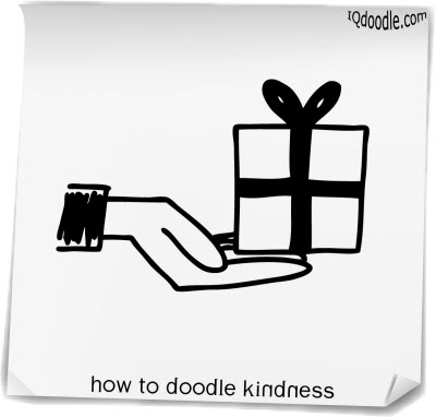 how to doodle kindness small