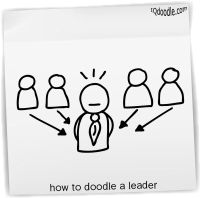 how to doodle leader small