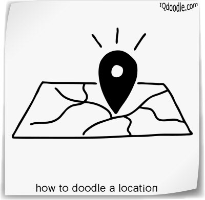 how to doodle location small