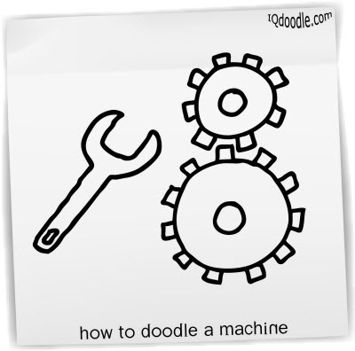 how to doodle machine small