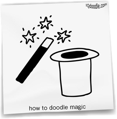 how to doodle magic small