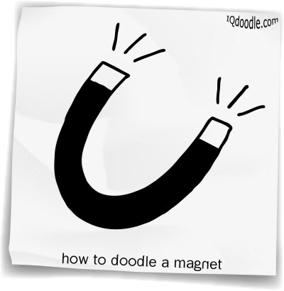 how to doodle magnet small