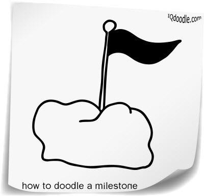 how to doodle milestone small