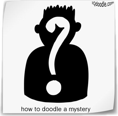 how to doodle mystery small