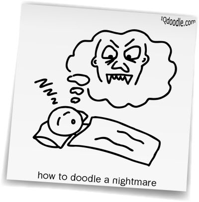 how to doodle nightmare small
