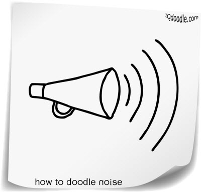 how to doodle noise small