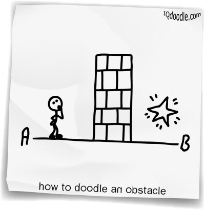 how to doodle obstacle small