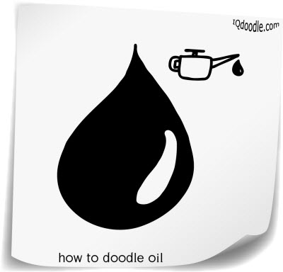 how to doodle oil small