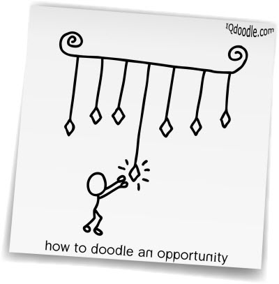 how to doodle opportunity small