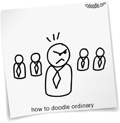 how to doodle ordinary small