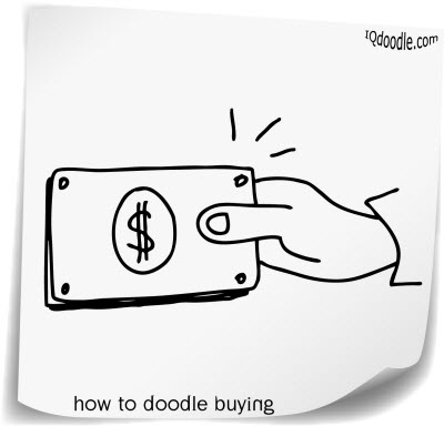 how to doodle paying small