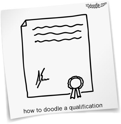 how to doodle qualification small