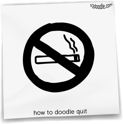 how to doodle quit small