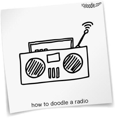 how to doodle radio small